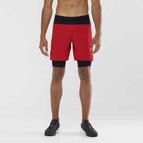 Salomon Exo Motion Twinskin Shorts Men, goji berry